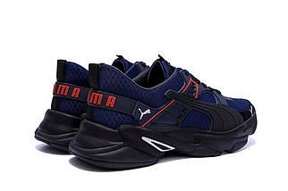 Мужские летние кроссовки в стиле Puma 40-45/ ПК-Р5 ск сет., фото 2