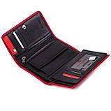 Женский кошелек кожаный красный Eminsa 2055-12-5, фото 4