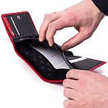 Женский кошелек кожаный красный Eminsa 2055-12-5, фото 6