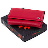 Женский кошелек кожаный красный Eminsa 2055-12-5, фото 7