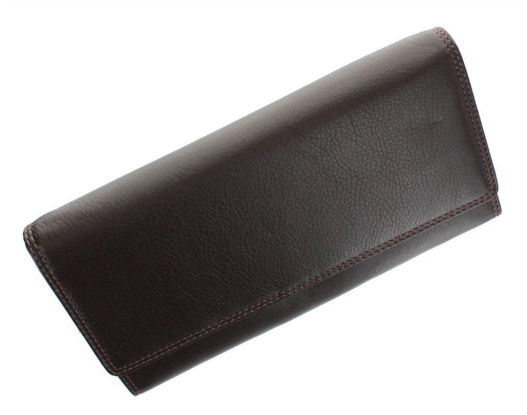 Женский кошелек Visconti HT-35 Chokolate кожаный коричневый