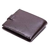Мужской кошелек кожаный коричневый Karya 0431-39, фото 2