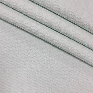 Вафельное полотно плетение соты, цвет мятный (шир. 2,30 м)  ОТРЕЗ (1,2*2,3)