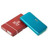 Женский кошелек Butun 639-004-050 кожаный бирюзовый, фото 5
