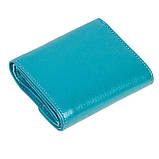 Женский кошелек кожаный бирюзовый Butun 584-004-050, фото 2