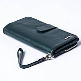 Женский клатч кожаный зеленый BUTUN 022-004-009, фото 2