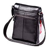 Мужская сумка кожаная черная Eminsa 6044-37-1, фото 2