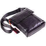 Мужская сумка кожаная черная Eminsa 6044-37-1, фото 4