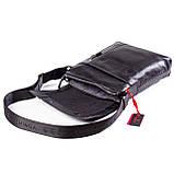 Мужская сумка кожаная черная Eminsa 6044-37-1, фото 6