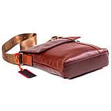 Мужская сумка кожаная коричневая Eminsa 6044-12-4, фото 3