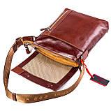 Мужская сумка кожаная коричневая Eminsa 6044-12-4, фото 5