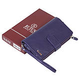 Женский кошелек клатч BUTUN 022-004-010 кожаный фиолетовый, фото 7