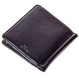 Зажим для денег Eminsa 1105-12-1 кожаный черный, фото 2