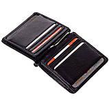 Зажим для денег Eminsa 1105-12-1 кожаный черный, фото 4