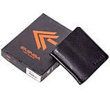 Зажим для денег Eminsa 1105-12-1 кожаный черный, фото 8