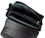 Мужской портфель Eminsa 7031-12-1 кожаный черный, фото 8