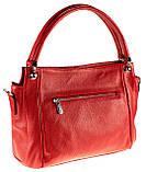 Женская сумка Eminsa 40225-37-5 кожаная красная, фото 2