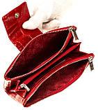 Большой женский кошелек BUTUN 507-007-074 кожаный красный, фото 5