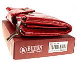 Большой женский кошелек BUTUN 507-007-074 кожаный красный, фото 6