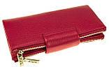 Большой женский кошелек BUTUN 507-004-018 кожаный розовый, фото 3