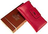 Большой женский кошелек BUTUN 507-004-018 кожаный розовый, фото 6