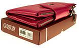 Большой женский кошелек BUTUN 507-004-018 кожаный розовый, фото 7