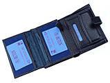 Мужской кошелек BUTUN 186-004-034 кожаный синий, фото 4