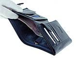 Мужской кошелек BUTUN 186-004-034 кожаный синий, фото 6