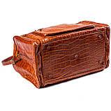 Сумка дорожная саквояж Eminsa 6517 4-2 кожаный коричневый, фото 5