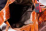 Сумка дорожная саквояж Eminsa 6517 4-2 кожаный коричневый, фото 6