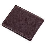 Мужской кошелек на магнитах BUTUN 243-004-004 кожаный коричневый, фото 2