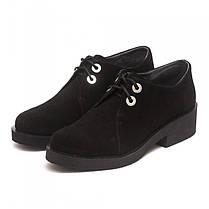 Туфли женские замшевые 7123ch, фото 2