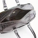 Сумка дорожная саквояж KARYA 8500-53 кожаный черный, фото 5