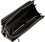Мужской клатч кожаный черный Eminsa 5002-37-1, фото 4