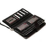 Мужской кошелек клатч кожаный черный BUTUN 022-004-001, фото 4