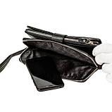Мужской кошелек клатч кожаный черный BUTUN 022-004-001, фото 6