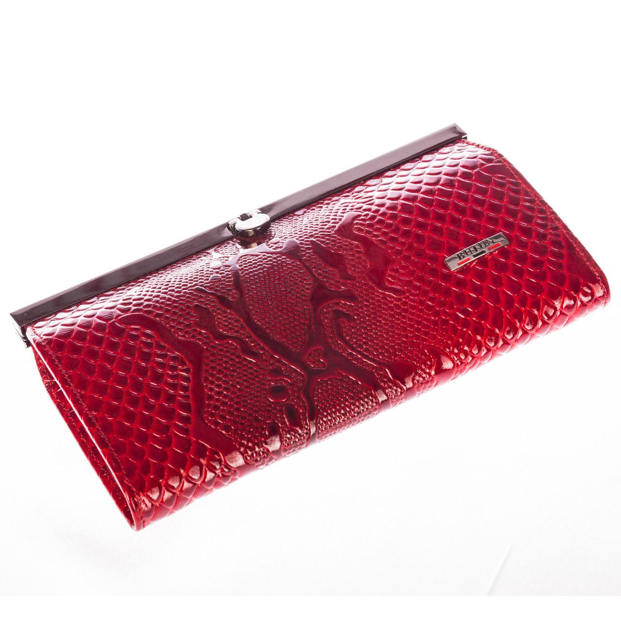 Женский кошелек Butun 5005-008-006 кожаный красный