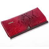 Женский кошелек Butun 5005-008-006 кожаный красный, фото 3