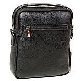 Мужская сумка барсетка Butun 415-004-001 черная из натуральной кожи, фото 2