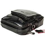Мужская сумка барсетка Butun 415-004-001 черная из натуральной кожи, фото 4
