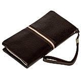 Мужской кошелек клатч Eminsa 5113-37-3 кожаный коричневый, фото 2