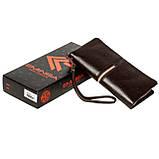 Мужской кошелек клатч Eminsa 5113-37-3 кожаный коричневый, фото 5
