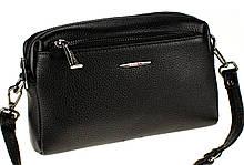 Женская сумка кросс-боди Eminsa 40125-37-1 кожаная черная