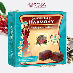 Мармелад Гармония Семена чиа-клюква, 192 грамм