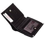 Женский кошелек Butun 590-004-001 кожаный чёрный, фото 3