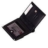 Женский кошелек Butun 590-004-001 кожаный чёрный, фото 4
