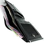 Женский кошелек Butun 590-004-001 кожаный чёрный, фото 5