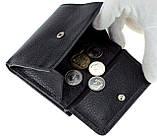 Женский кошелек Butun 590-004-001 кожаный чёрный, фото 6