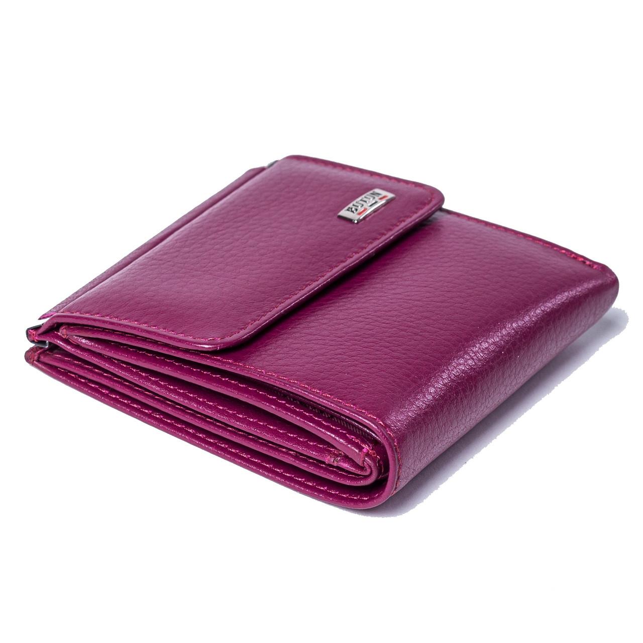 Женский кошелек BUTUN 590-004-005 кожаный марсала