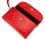 Женский клатч Karya 1121-46 кожаный красный, фото 4